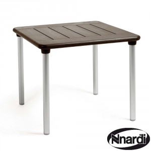 Maestrale 90 Table - Coffee / Brown
