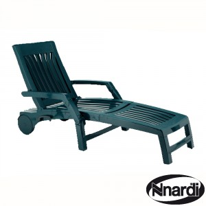 Nettuno Lounger in green