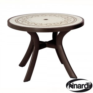 Toscana 100 table in Coffee ./ Brown
