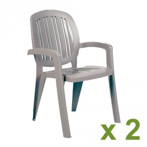Creta chair Turtle Dove