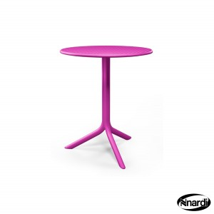 Step Bistro Table in Pink