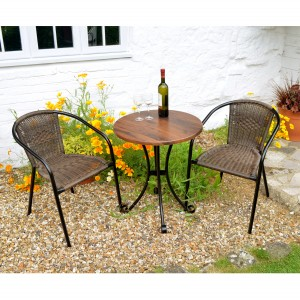 Dalarna Bistro Table with San Remo Chairs