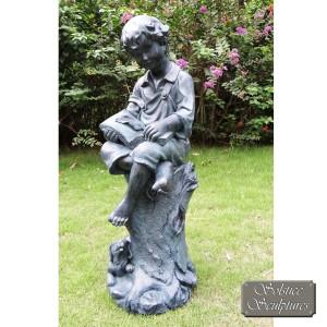 Authur statue - lead effect