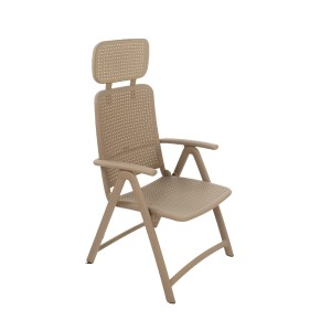 AquaMarina Reclining Chair in Turtle Dove Grey