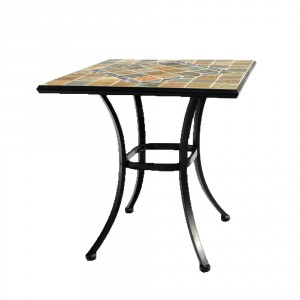 Amalfi 70cm x 70cm table Profile