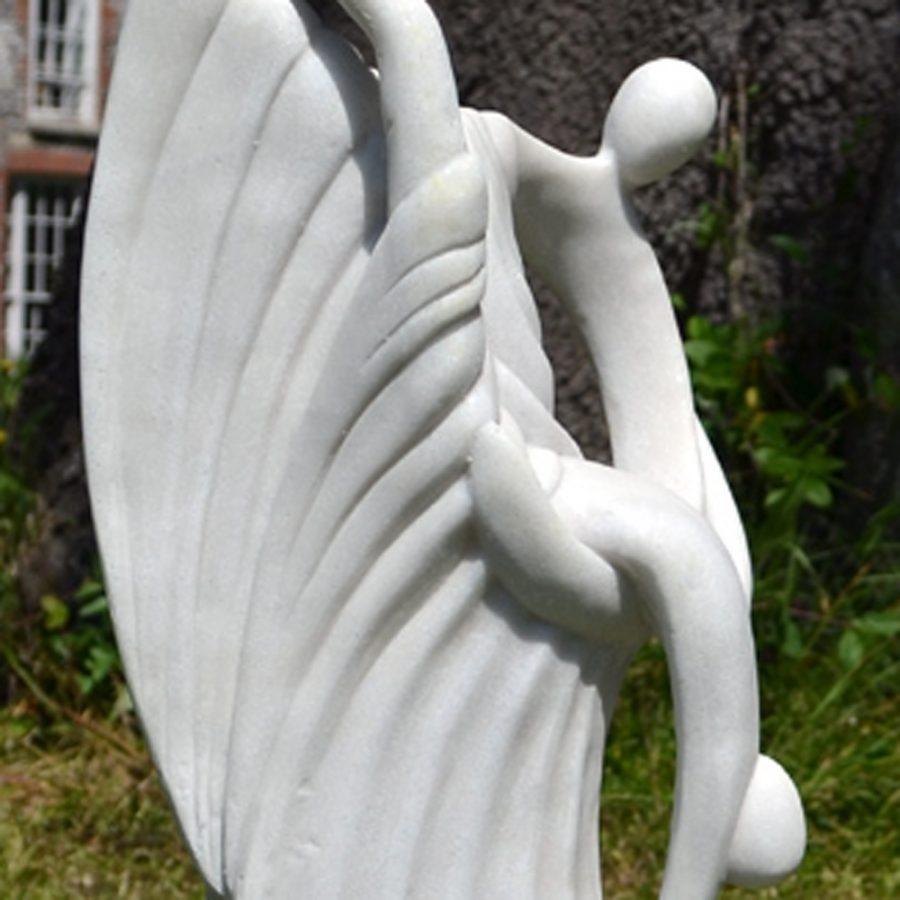 Ballroom Grace garden statue close-up