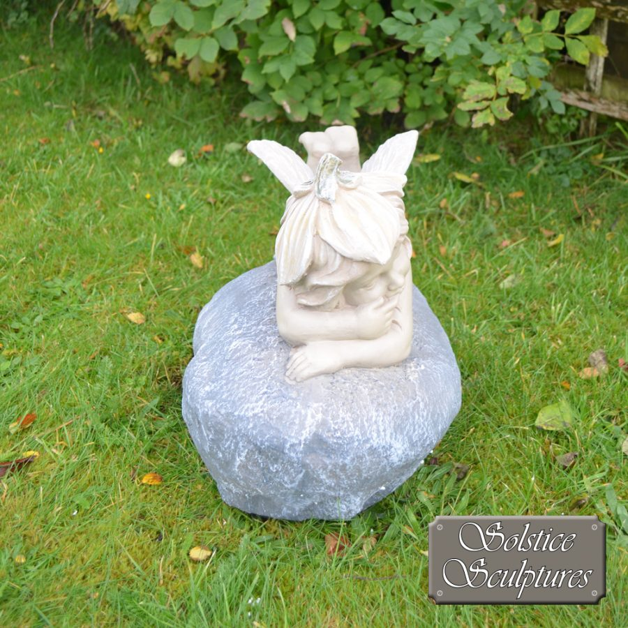 Bloom Garden Fairy - front view, in pastel colours