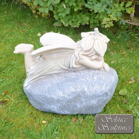 Bloom Garden Fairy - right hand side view, in pastel colours