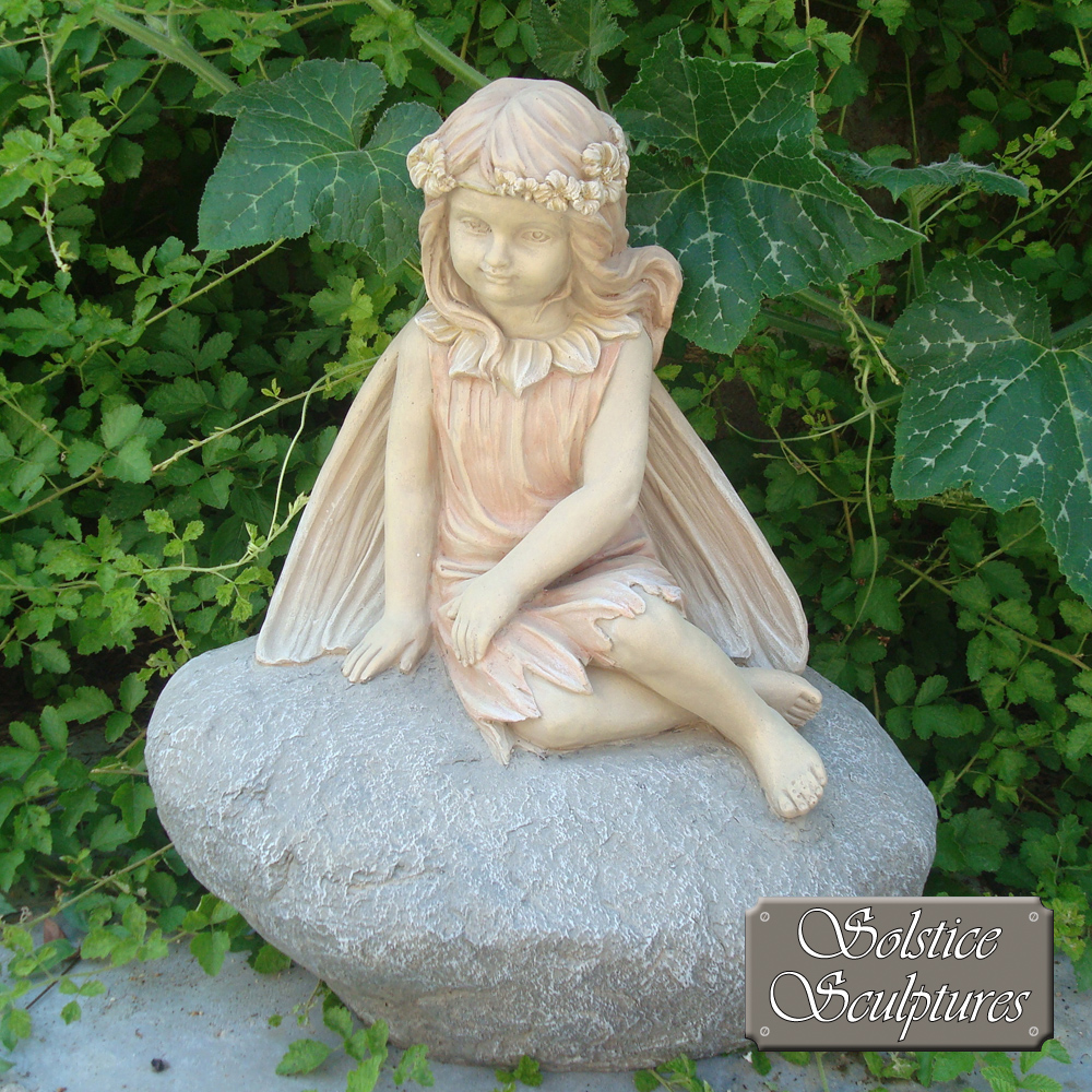 Blossom Fairy garden ornament
