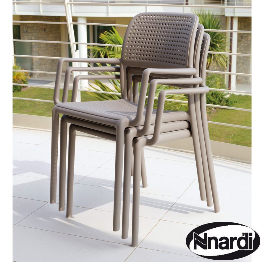 Bora Chair stacked