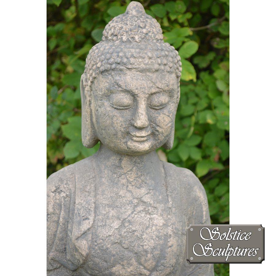 Buddha Garden statue close up