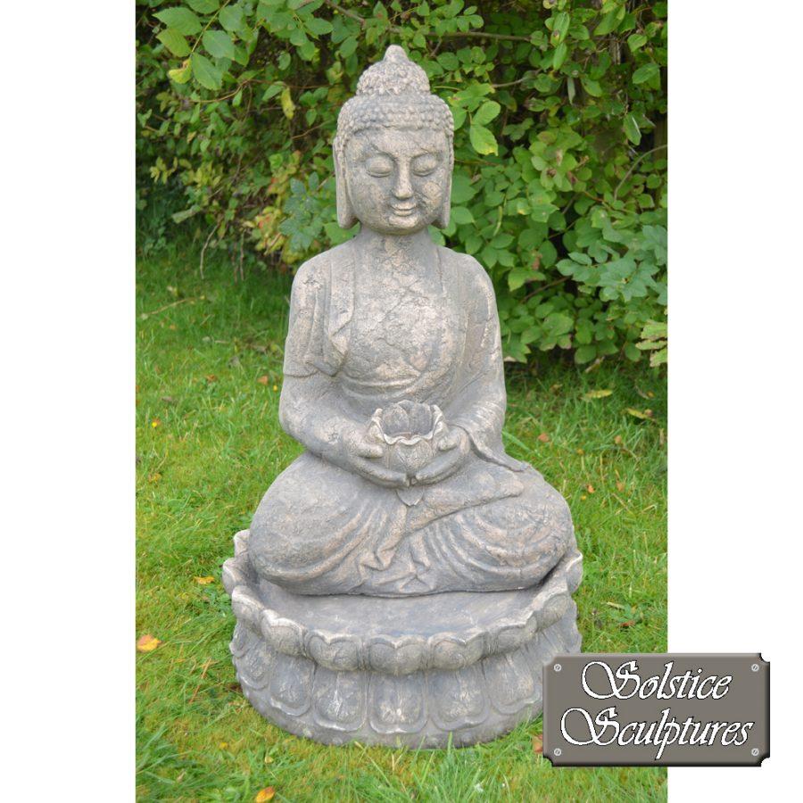 Buddha Garden statue front view