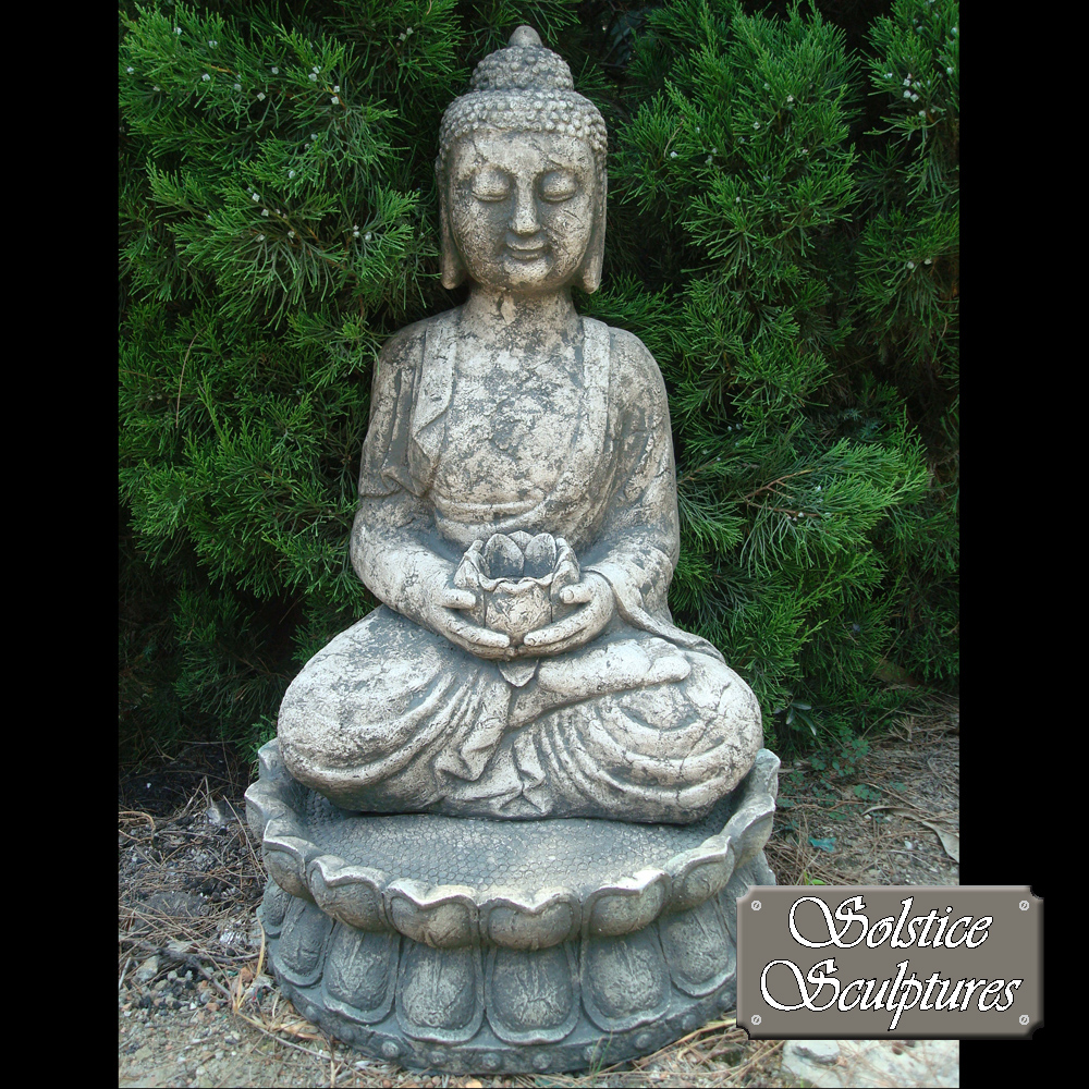 Buddha garden statue home design ideas and pictures for Buddha decorations for the home uk