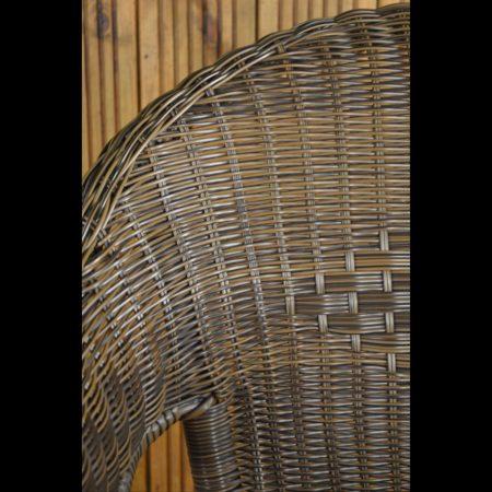 Copenhagen Chair close-up of wicker