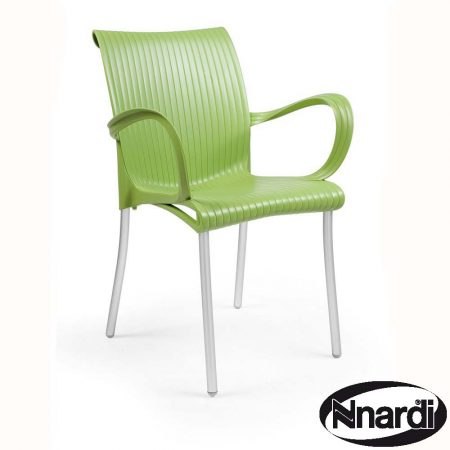 Dama chair in Lime Green