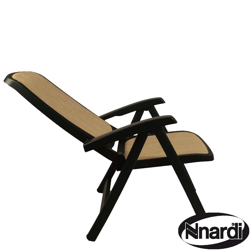 Delta chair green - fully reclined