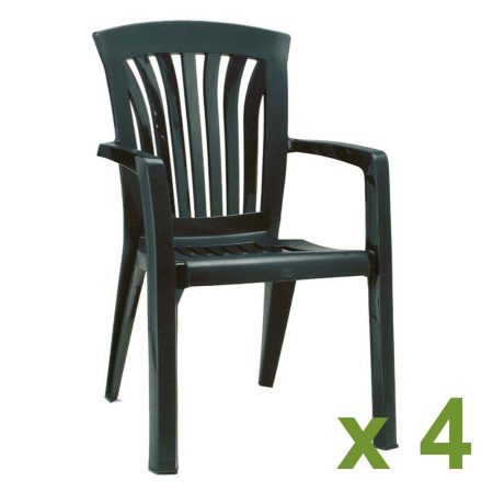 Diana Chair Green x4