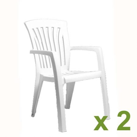 Diana Chair White x2