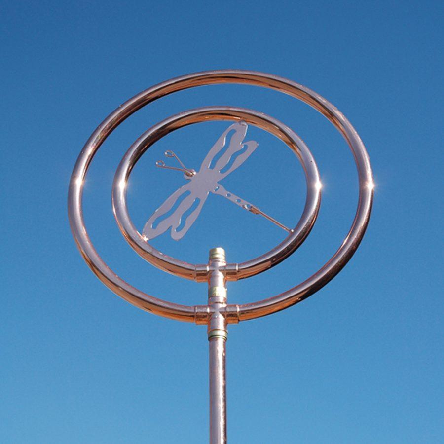 Double ring dragonfly sprinkler