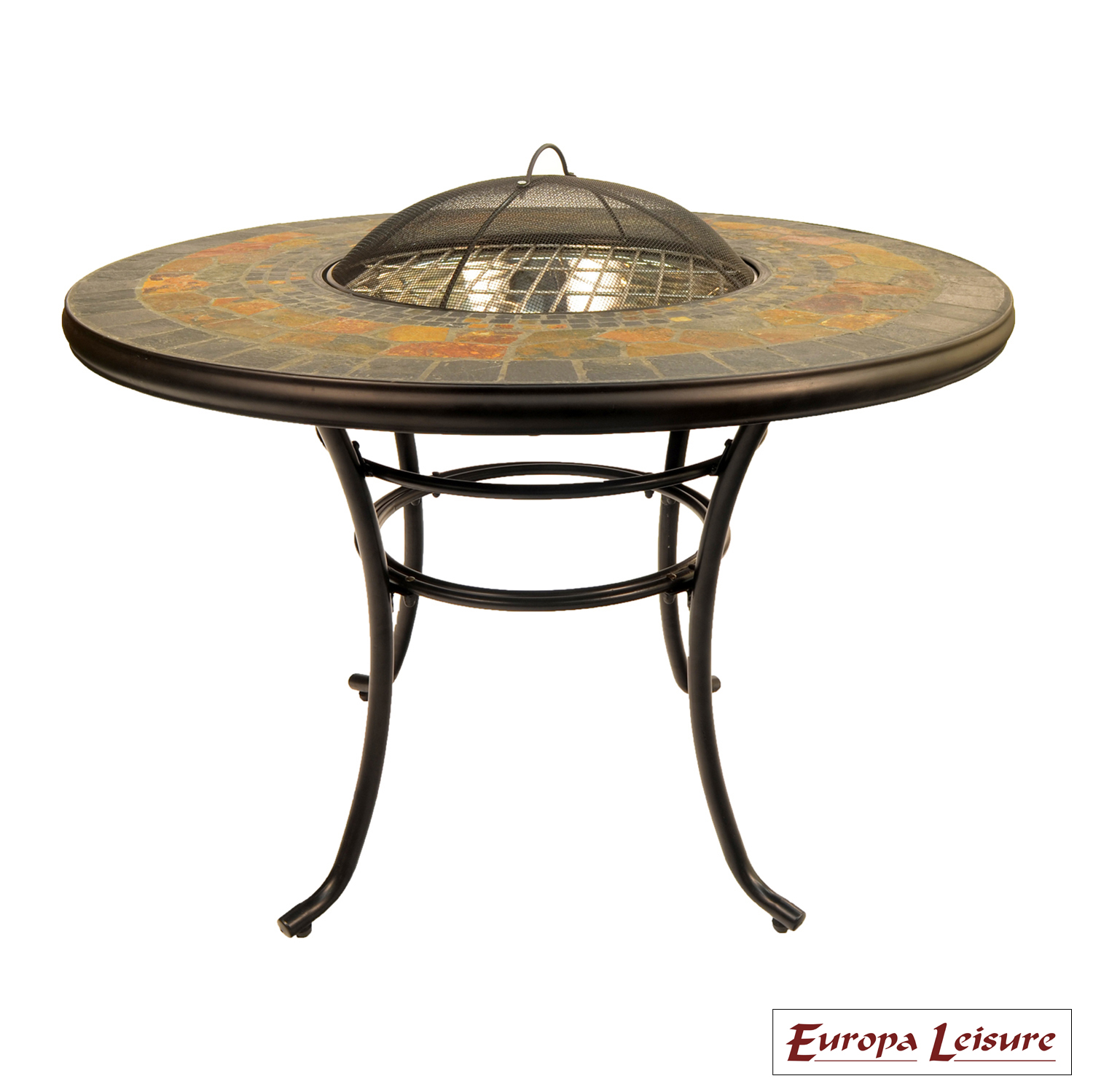 durango fire pit patio table