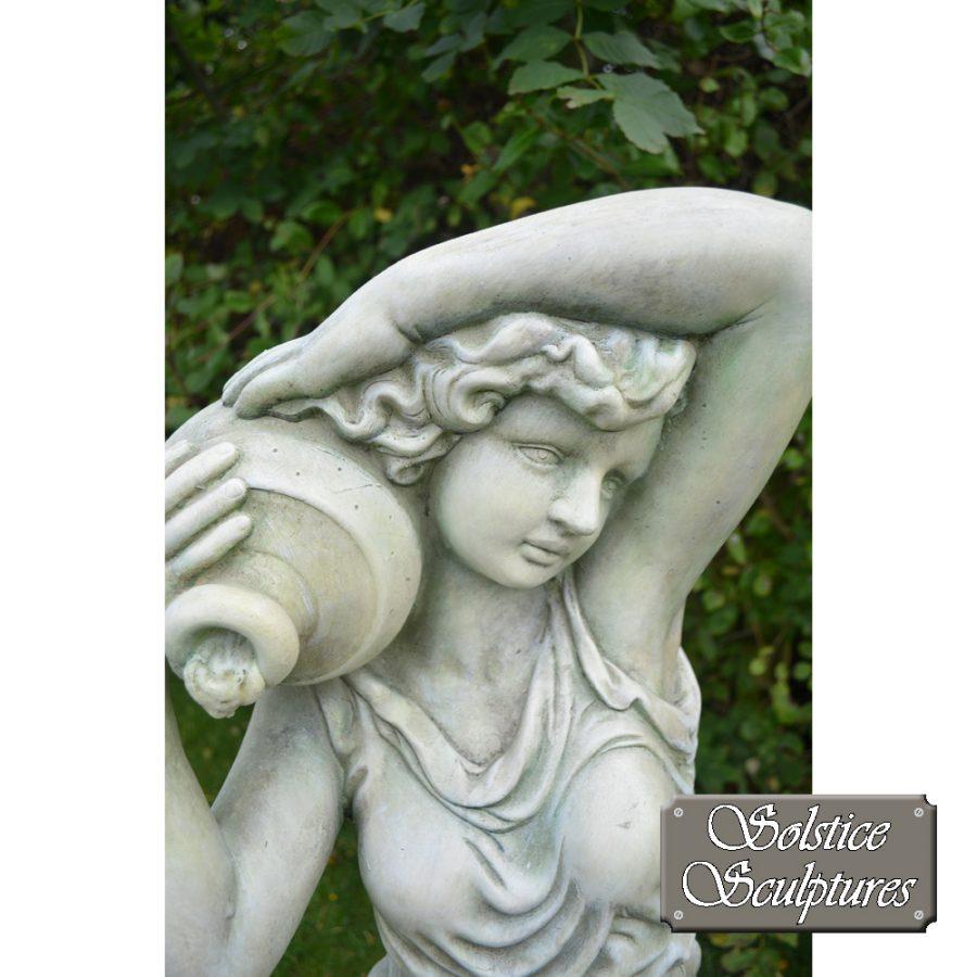 Eileen garden statue close up