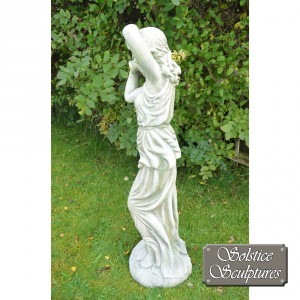 Eileen garden statue left hand side view