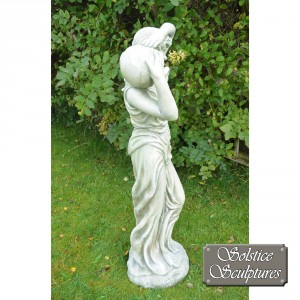 Eileen garden statue right hand side view