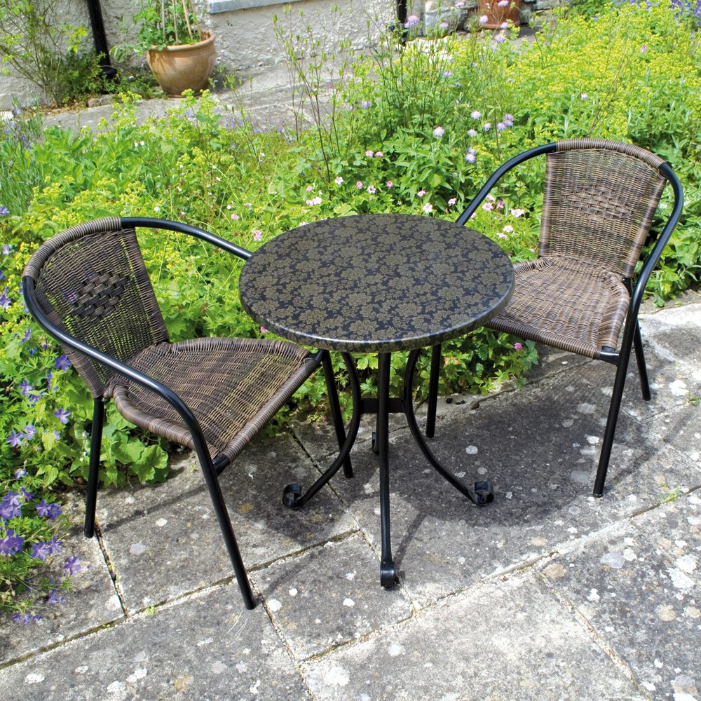 Fleuretta table with San Remo