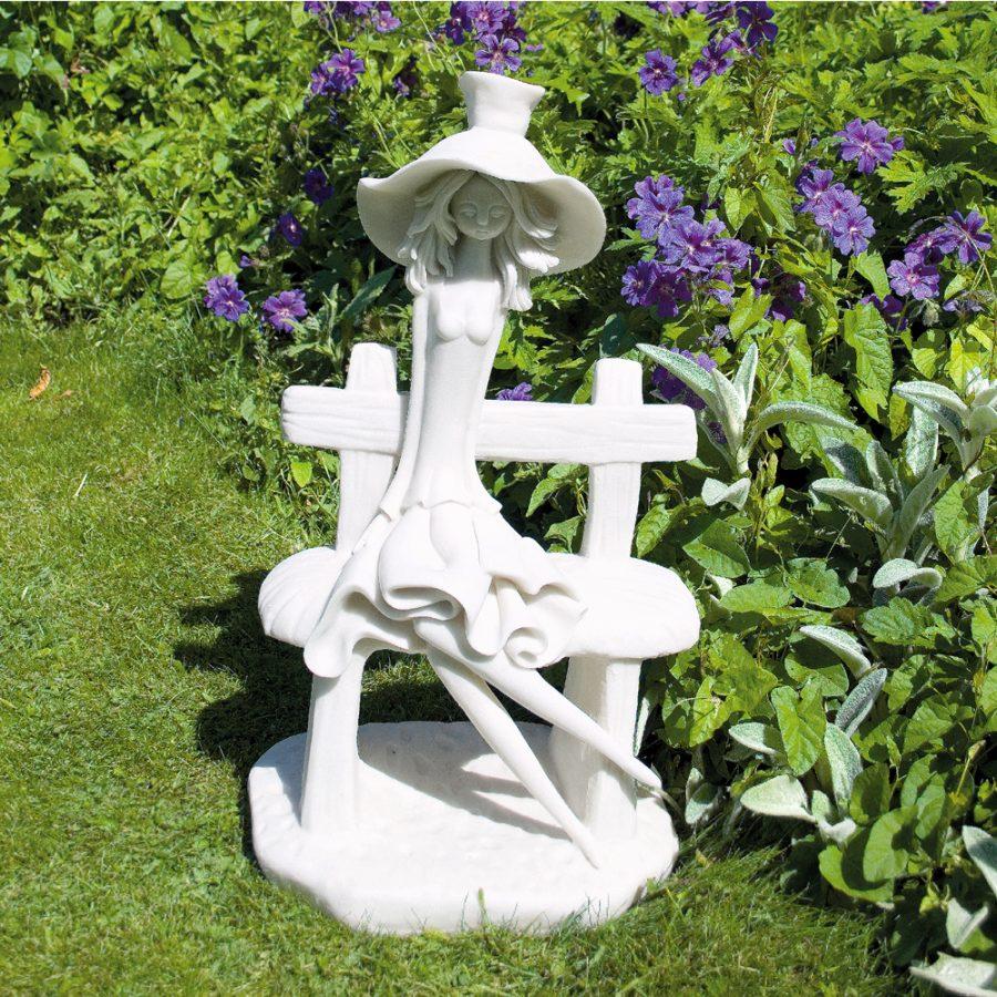 Florence garden statue