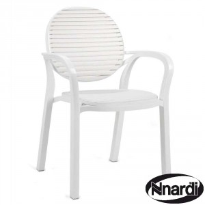 Gardenia chair White