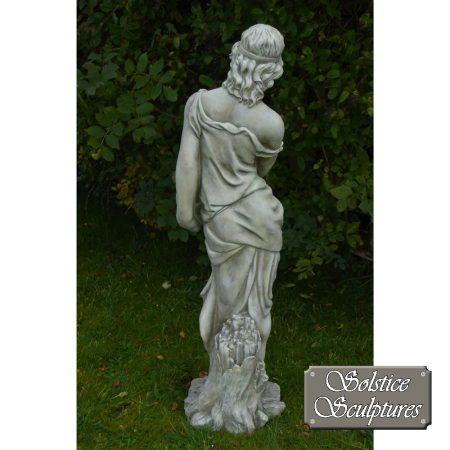 Grace garden statue rear