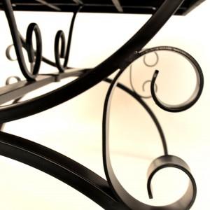 Monte Carlo table leg detail