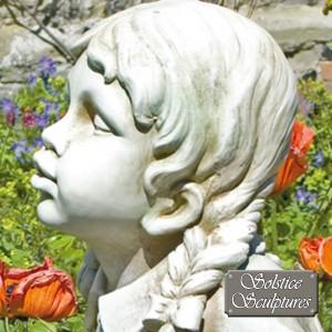 Hannah Garden Statue close up