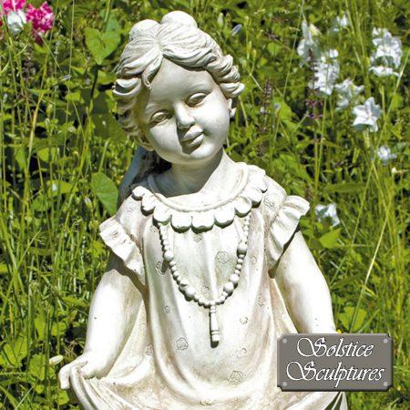 Jill Garden Statue close up