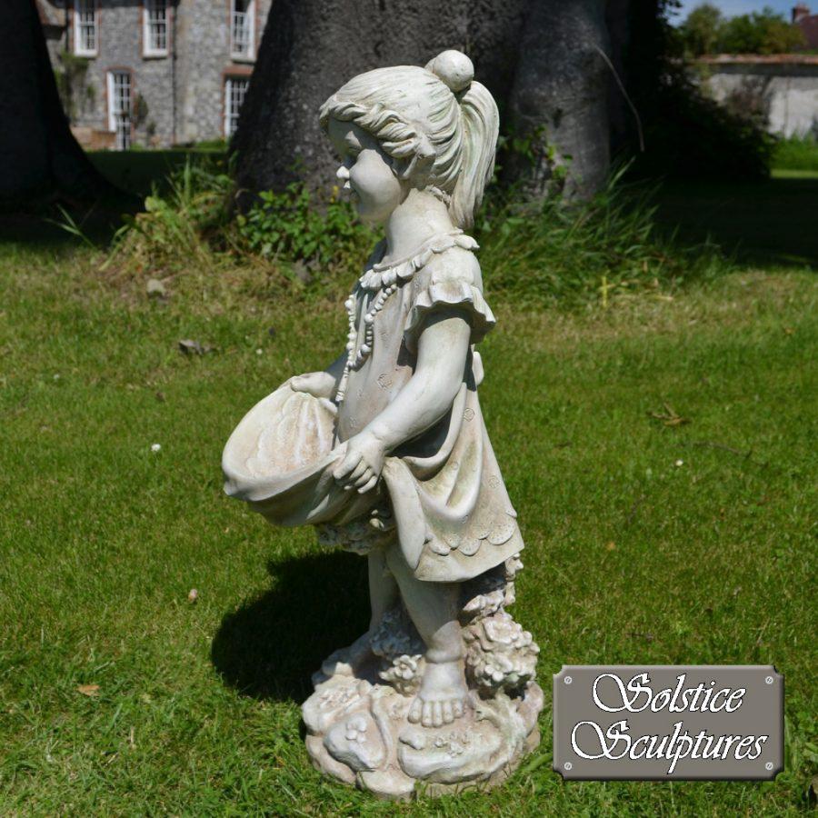 Jill Garden Statue left hand side