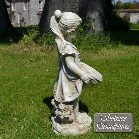 Jill Garden Statue right hand side