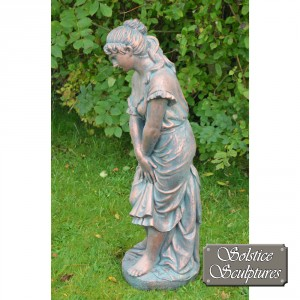 Josephine Garden Statue left hand side view