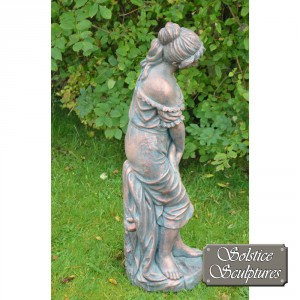 Josephine Garden Statue right hand side view
