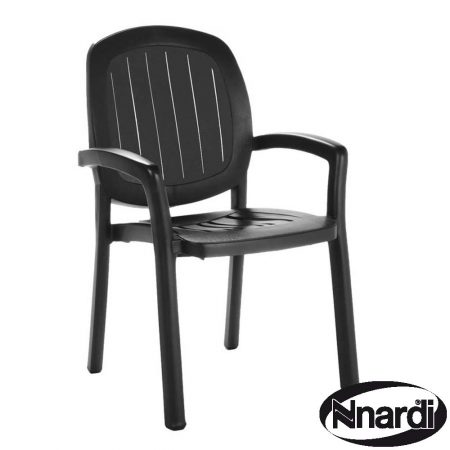 Kappa chair in Anthracite