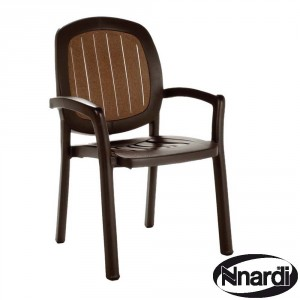 Kappa Chair in Coffee Woodgrain
