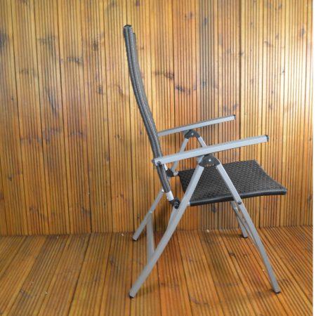Lisbon Wicker Chair upright