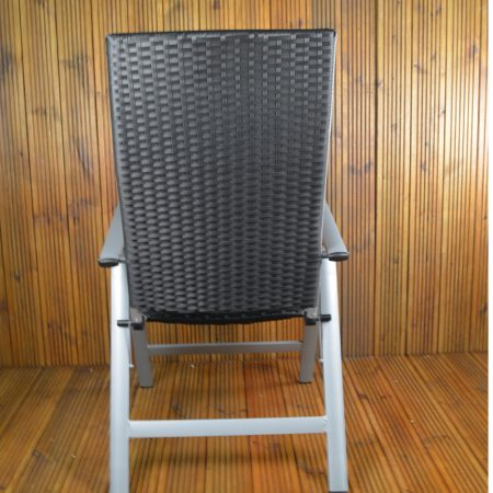 Lisbon Wicker Chair back view