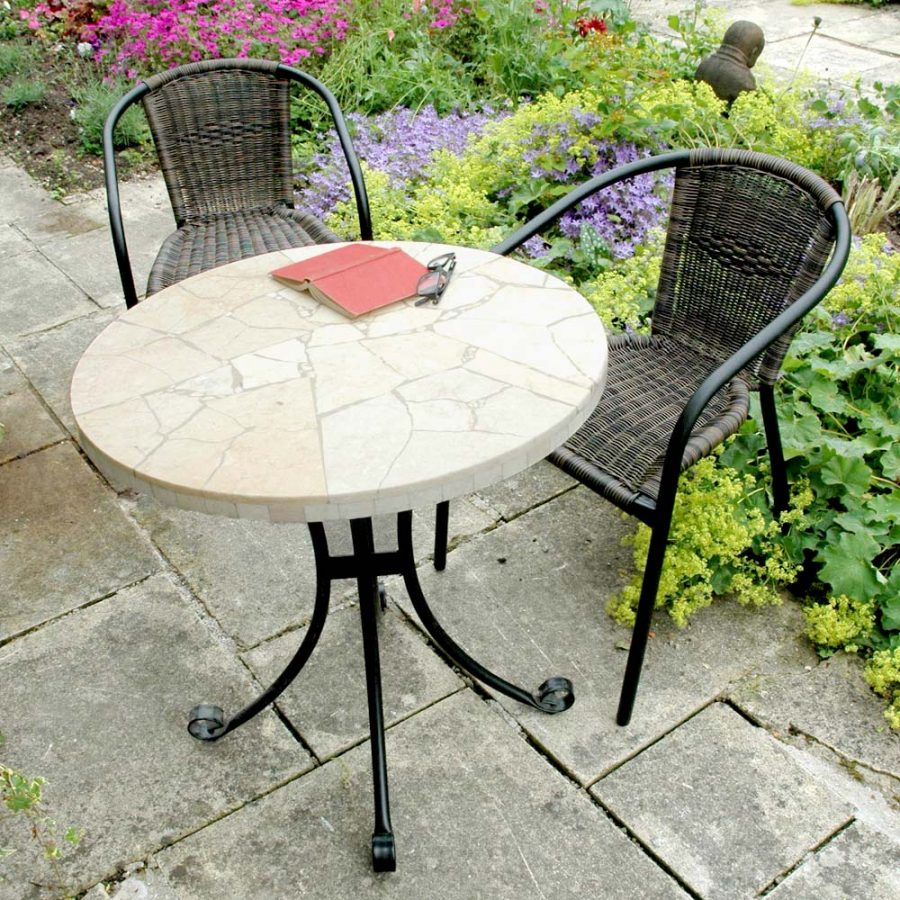 Lucern table with San Remo Chairs