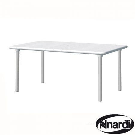 Maestrale 220 extending table White