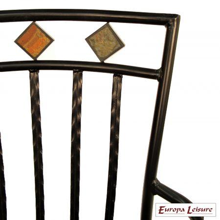 Malaga chair close up