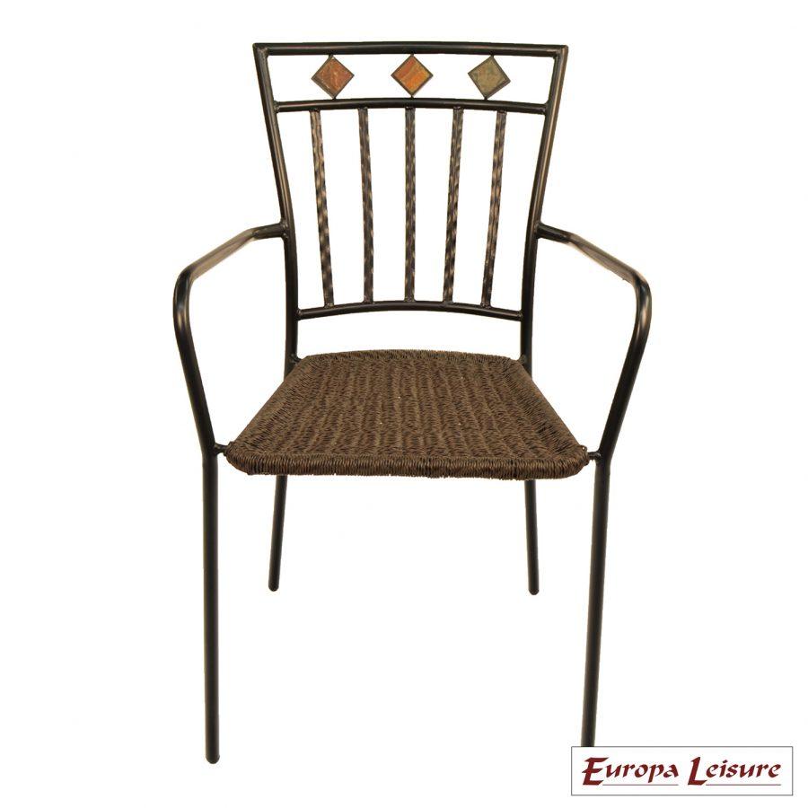 Malaga chair front