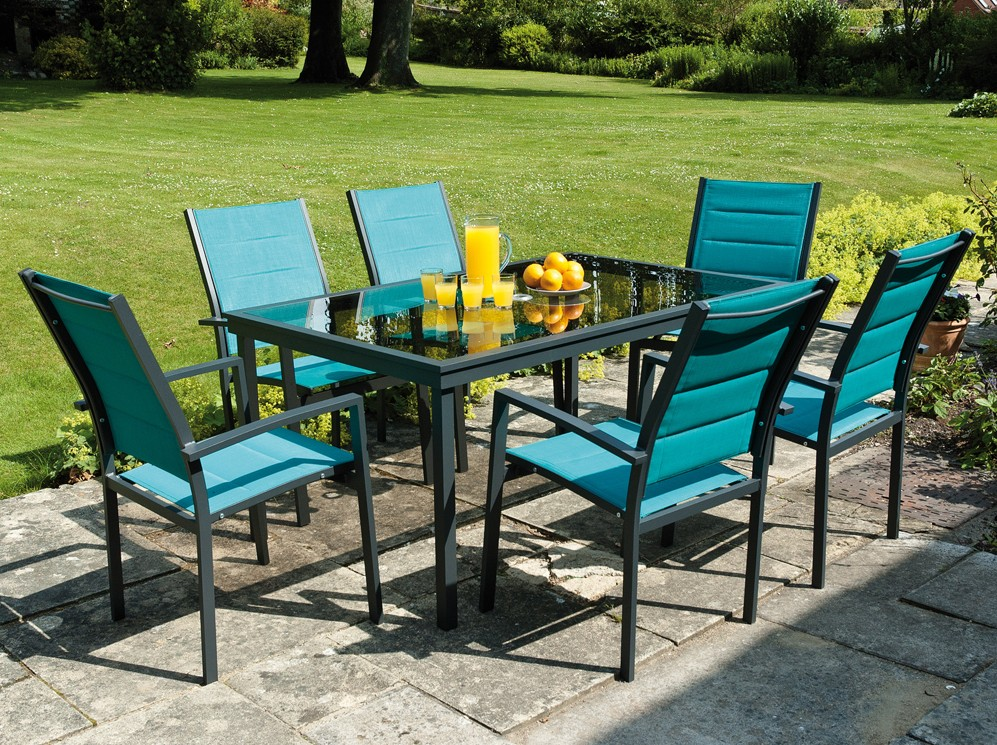 & Malmo Textilene Garden Furniture Set