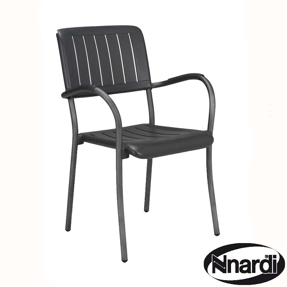 Musa chair in Anthracite