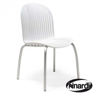 Ninfea chair in white