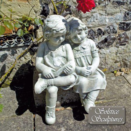 Polly & Peter garden statue